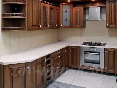 Кухня из массива ясеня Т506/109