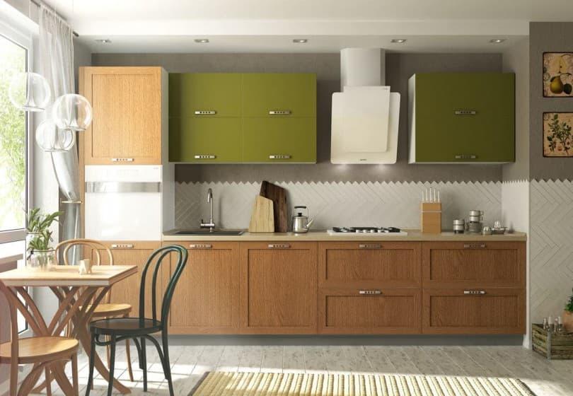 "Кухни ""Оптима"" с фасадами из рамочного мдф"