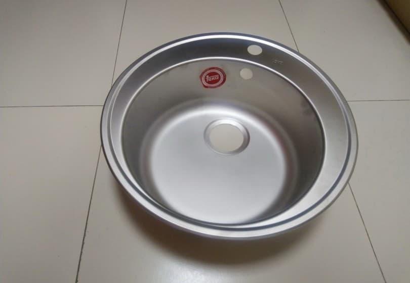 80 руб. - круглая мойка TEKA  (Германия)