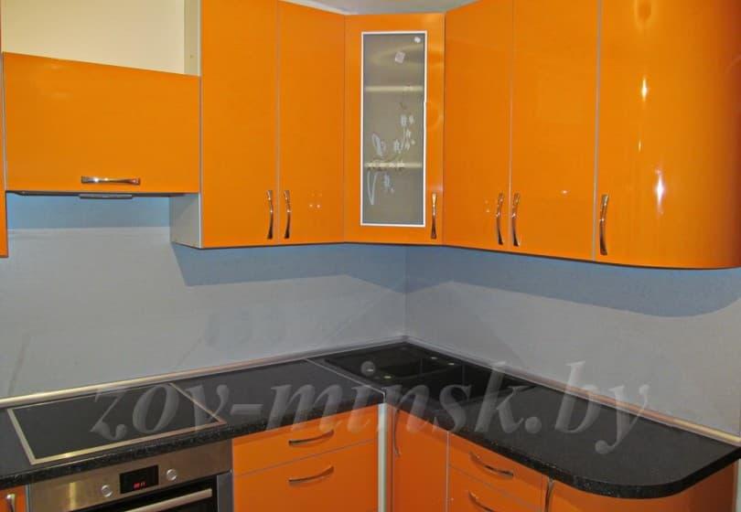 Кухня из пластика  Оранж