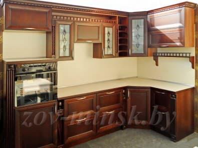 Кухня из массива ольхи Т320/119
