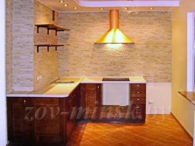 Кухня из массива ясеня Т502/119