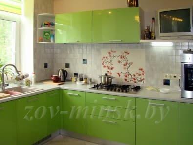 Кухня из мдф крашеного ZOV 191