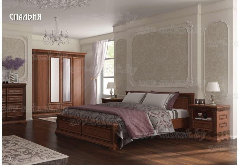"""Спальня из массива """"Патриция"""""""