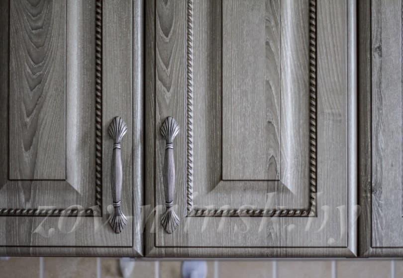 """Кухня из МДФ-пвх с патиной """"Лондон"""" Палисандр"""