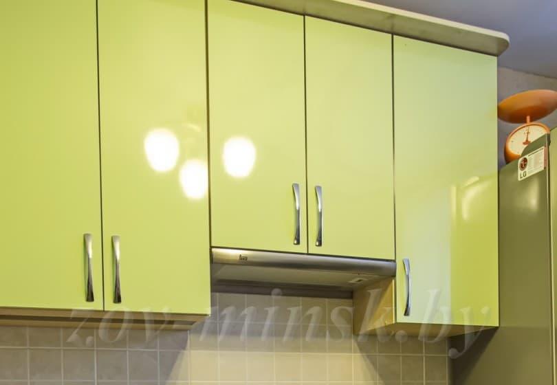 Кухня из пластика Цитрус/Дуб мореный