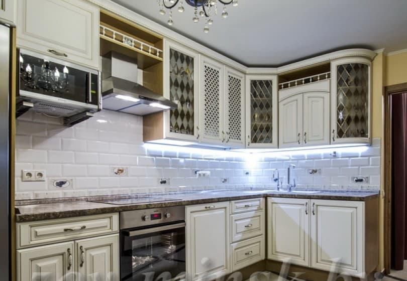"""Кухня из мдф крашеного """"Париж-2"""""""
