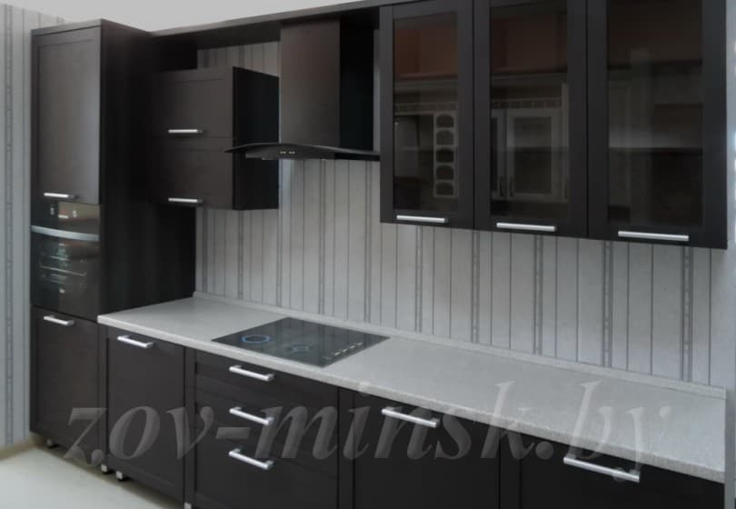"Кухня из рамочного мдф ""Техно-2"" Венге"